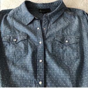 Plus size 20 Lane Bryant button down shirt